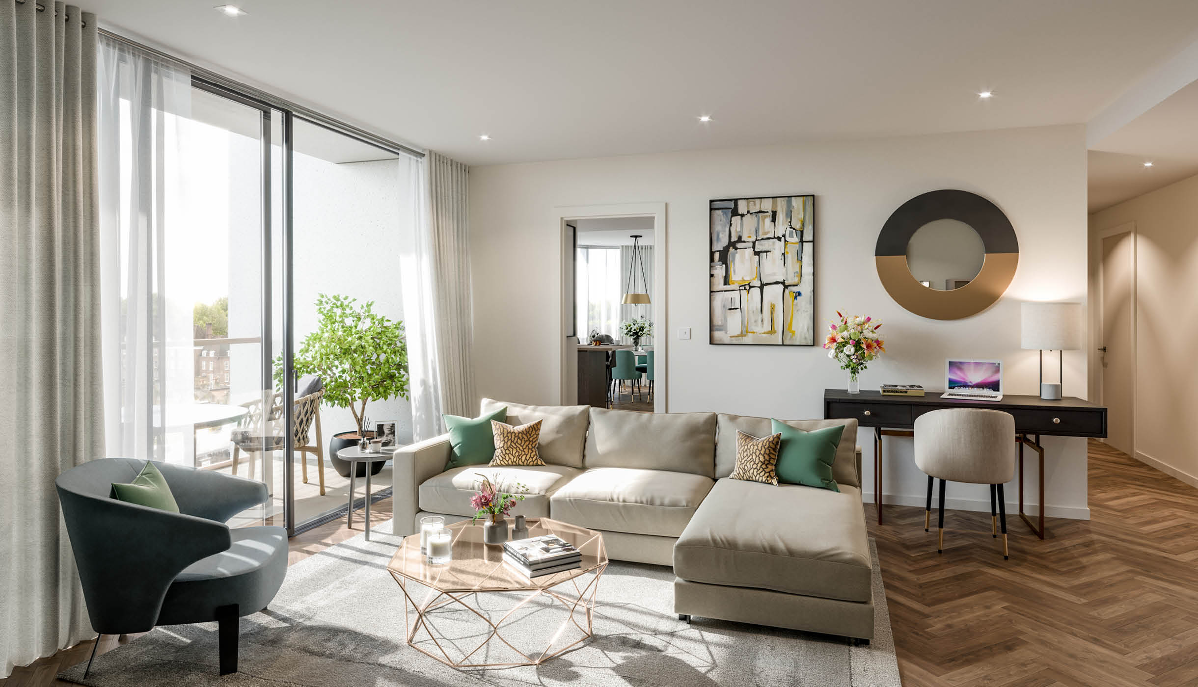 Luxury Homes at King's Road Park The Terrace Collection